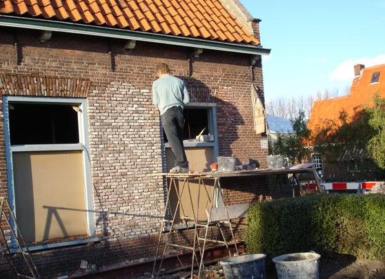 Ook het restaureren van mooi oud metsel- en timmerwerk is een onderdeel van de werkzaamheden van BouwbedrijfS.C. van den Berg B.V.… Lees verder…